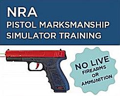 Pistol Simulator Training